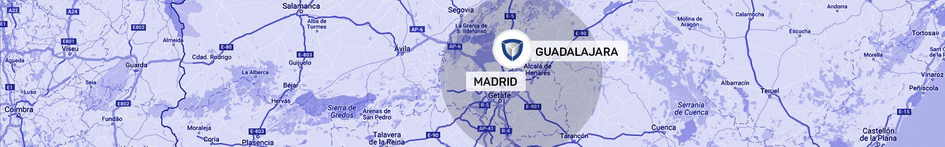 Zonas de Actuación: Madrid y Guadalajara. Contacto - Solicite información sin compromiso