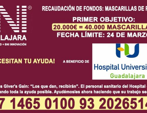 Recaudación de fondos Mascarillas para Hospital de Guadalajara