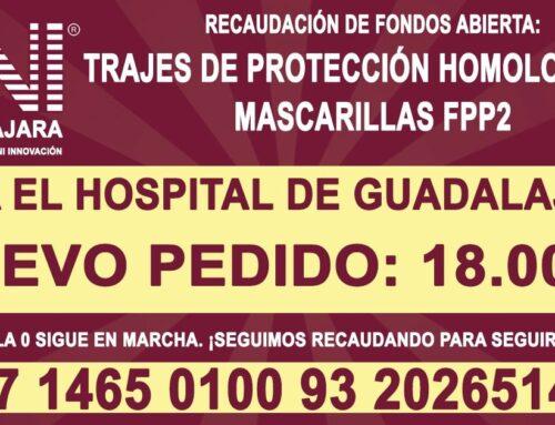Continúa la campaña para el Hospital de Guadalajara